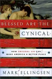 Blessed are the cynical by Mark Ellingsen