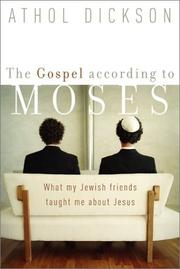 Cover of: The Gospel according to Moses