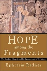 Cover of: Hope among the Fragments