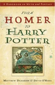Cover of: From Homer to Harry Potter by Matthew T. Dickerson