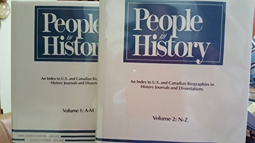 People in history by Susan K. Kinnell, editor.