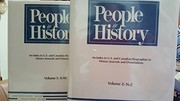 Cover of: People in history | Susan K. Kinnell, editor.