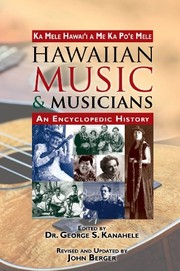 Cover of: Hawaiian Music & Musicians: An Encyclopedic History