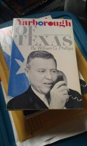 Cover of: Yarborough of Texas | William G. Phillips