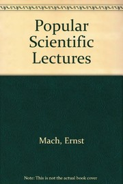 Cover of: Popular scientific lectures | Ernst Mach