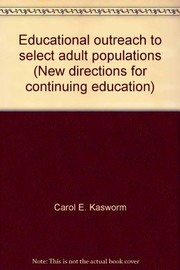 Cover of: Educational outreach to select adult populations |