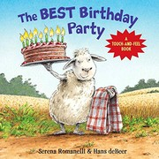 Cover of: The Best Birthday Party: A Touch-And-Feel Book