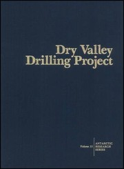 Cover of: Dry valley drilling project