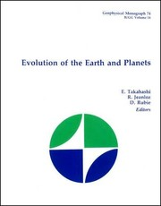 Cover of: Evolution of the Earth and planets |