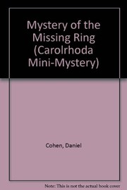 Cover of: The mystery of the missing ring