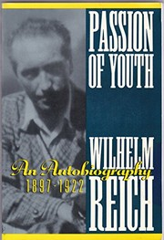 Cover of: Passion of Youth: An Autobiography, 1897-1922
