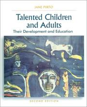 Talented Children and Adults by Jane Piirto