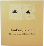 Cover of: Thinking is form | Ann Temkin