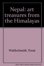 Cover of: Nepal: art treasures from the Himalayas