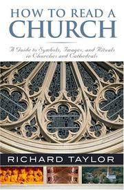 Cover of: How to Read a Church | Richard Taylor