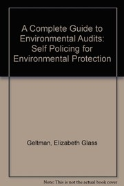 Cover of: A complete guide to environmental audits
