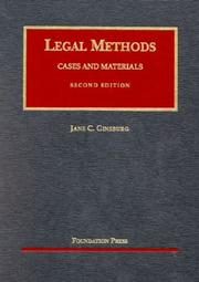 Cover of: Legal methods