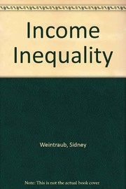 Cover of: Income inequality. |