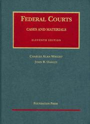Cover of: Federal courts | Charles Alan Wright