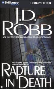 Cover of: Rapture in Death