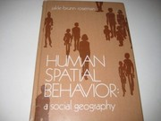 Cover of: Human spatial behavior | John A. Jakle