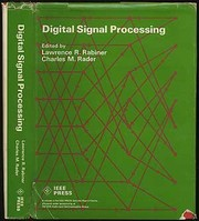 Cover of: Digital signal processing. | Lawrence R. Rabiner