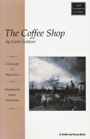 Cover of: The coffee shop | Goldoni
