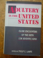 Cover of: Adultery in the United States | Philip E. Lampe