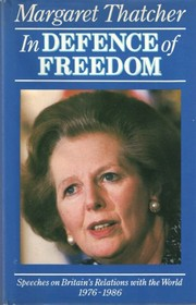Cover of: In defence of freedom