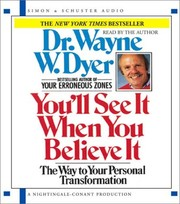 Cover of: You'll See It When You Believe It | Dr. Wayne W. Dyer