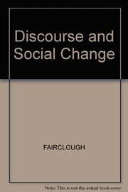 Cover of: Discourse and social change