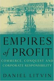 Cover of: Empires of profit | Daniel Litvin
