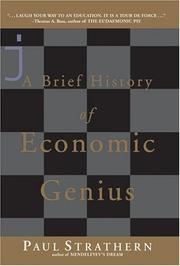 Cover of: A Brief History of Economic Genius | Paul Strathern