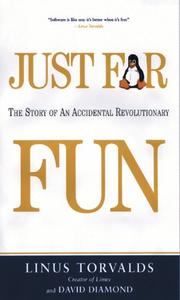 Cover of: Just for Fun by Linus Torvalds, David Diamond