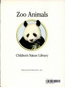Cover of: Zoo Animals (Children's Nature Library)