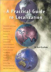 Cover of: A Practical Guide to Localization (Language International World Directory) | Bert Esselink