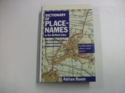 Cover of: Dictionary of place-names in the British Isles