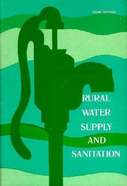 Cover of: Rural water supply and sanitation | Forrest Blythe Wright