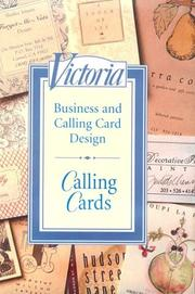 Cover of: Calling Cards | Janet Allon