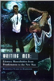 Cover of: Writing men | Berthold Schoene