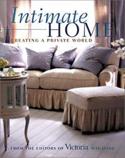 Cover of: Intimate Home | N. Y.) Victoria (New York