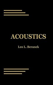 Cover of: Acoustics | Leo Leroy Beranek