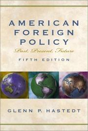 Cover of: American Foreign Policy | Glenn Hastedt