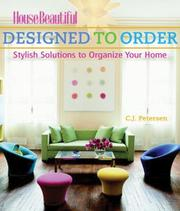 Cover of: Designed to Order | C. J. Petersen