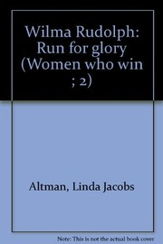 Cover of: Wilma Rudolph