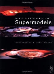Cover of: Architectural supermodels | Tom Porter