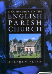 Cover of: A companion to the English parish church