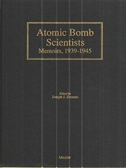 Cover of: Atomic bomb scientists |