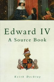 Cover of: Edward IV | Keith Dockray