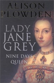Cover of: Lady Jane Grey
